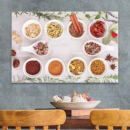 Various Kinds of Colorful Seasonings