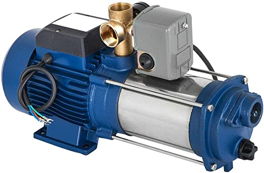 Difu - Bomba centrífuga de agua de alta calidad, 1800 W y 150 l/h