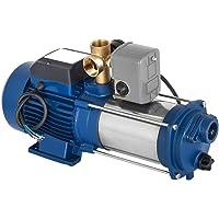 Bomba centrífuga 1800 W 9000 L/H, acero inoxidable, para uso doméstico, utilizada para mejorar el suministro de agua…