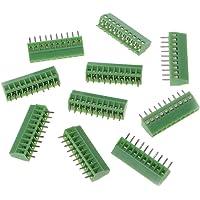 10 Pcs 2Pin-10Pin Screw PCB Mounted Terminal Blocks