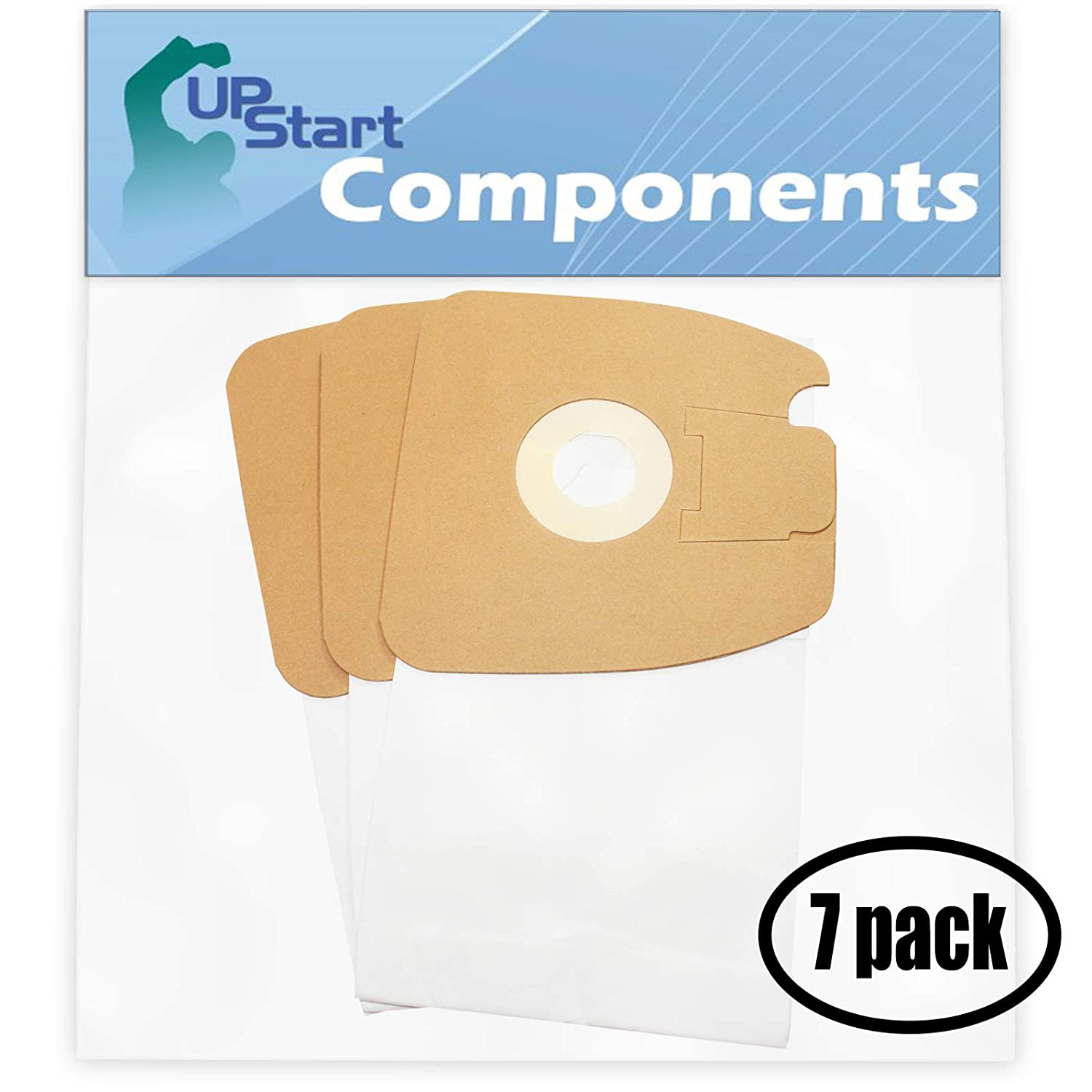 21 Replacement MM Bags 60295C for Eureka, Sanitaire - Compatible with Eureka 3670G, Sanitaire SC3683A, Eureka Mighty Mite Pet Lover 3684F, Eureka Mighty Mite 3670G, Eureka 3684F, Sanitaire SC3683, Sanitaire S3681, Eureka Style MM, Eureka 3670A, Eureka 3684B, Eureka Mighty Mite 3684F