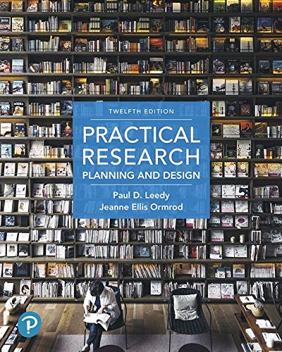 Practical Research: Planning and Design (12th Edition) by Pearson