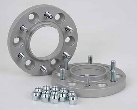 21 mm per disco//42 mm per asse con sigillo T/ÜV Distanziali in alluminio 4 pezzi