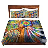 DiaNoche Designs Rachel Brown Unique Home Decor Bedding Ideas Sagrada Familia Barcelona Spain Cover, 8 King Duvet Sham Set