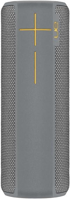 Ultimate Ears Boom 2 Tragbarer Bluetooth Lautsprecher 360 Sound Wasserdicht Und Stoßfest App Navigation Kann Mit Weiteren Lautsprechern Verbunden Werden 15 Stunden Akkulaufzeit Stone Grau Audio Hifi