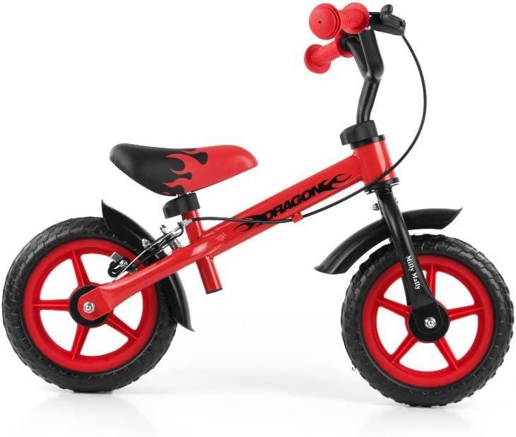 MILLY MALLY Bicicleta Infantil 2145 con Ruedas de 25 cm, Frenos y ...