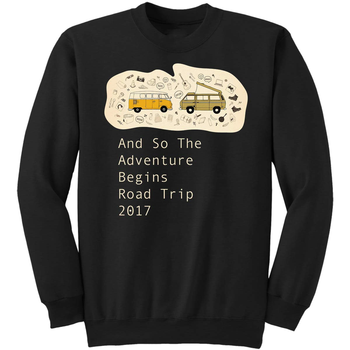 DoozyGifts99 So The Adventure Begins Road Trip 2 Sweatshirt