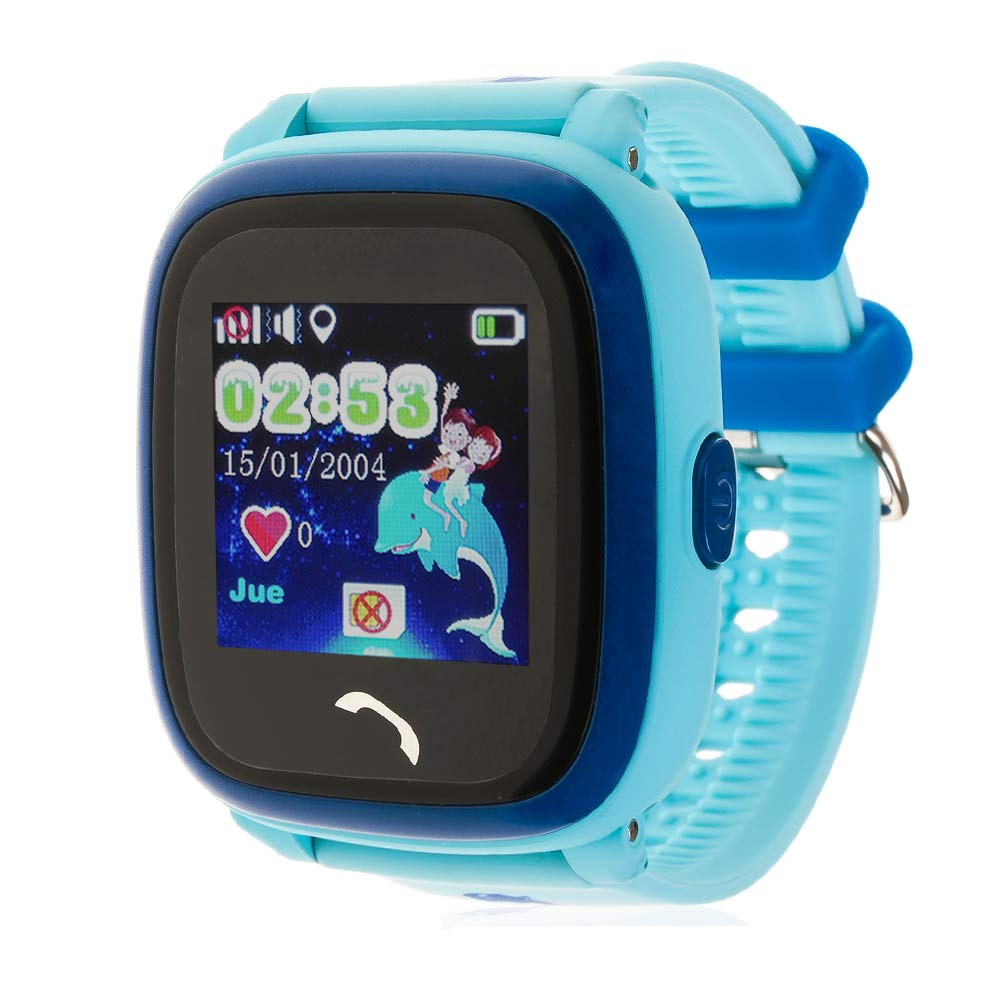 DAM TEKKIWEAR. DMW009BLUE. Smartwatch con Localizador GPS ...
