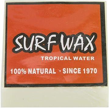 Fishlor Cera de surfe, cera antiderrapante para prancha de surfe, skimboard, ceras, acessório de surfe, para skate, ceras, (vermelho)