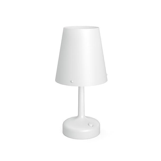 Philips 7179631P0 - Lámpara de mesa, IP20, nivel de protección III, color blanco