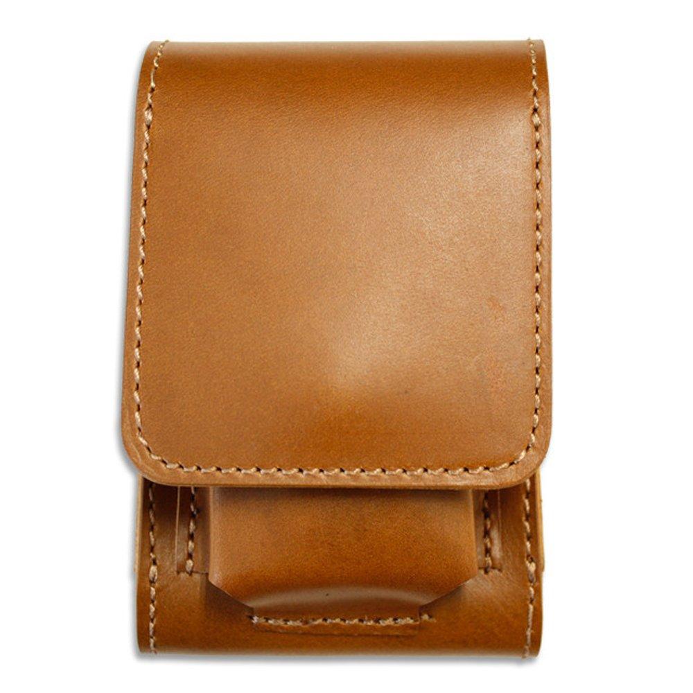 Chromecel leather IQOS case Made in JAPAN Moca