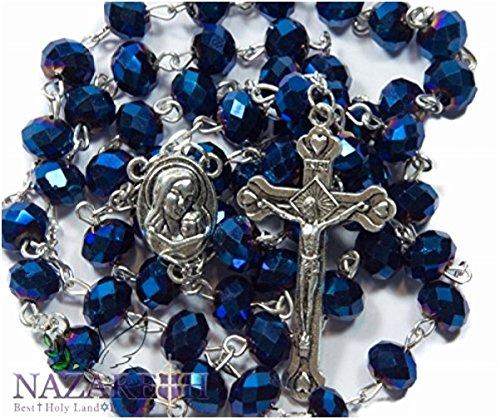 Crystal Rosary Crucifix - 2
