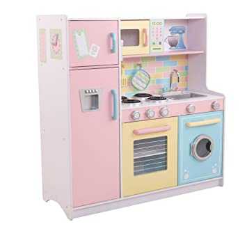 Deluxe Culinary Wooden Kitchen Amazon Co Uk Toys Games