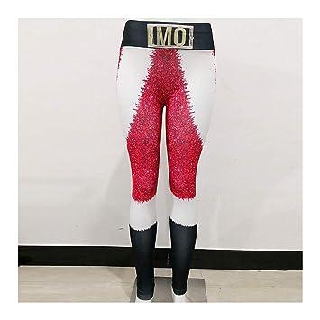 DOUPJ Pantalones De Yoga para Mujer Fitness Polainas ...