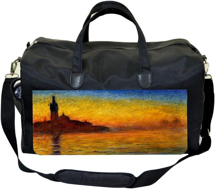 Claude Monet San Giorge Maggiore at Dusk Sports Bag