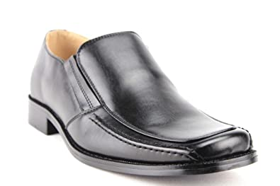 b5f5375db89a Amazon.com | Majestic Men's 35162 Leather Lined Classic Slip On Squared Toe  Loafers Dress Shoes | Loafers & Slip-Ons
