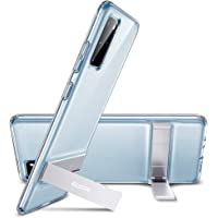 ESR Metal Kickstand Compatible with Samsung Galaxy S20 Plus Case, Vertical and Horizontal Stand, Reinforced Drop Protection, Flexible TPU Case for Samsung Galaxy S20 Plus, Clear