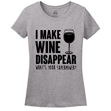 4283b062 mintytees keepin' It Fresh I Make Wine Disappear, What's Your Superpower?  Womens T