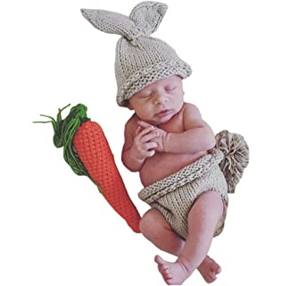 Raylans Newborn Baby Girls Boys Knit Beanie Photo Photography Prop Hat Cap