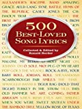 500 Best-Loved Song Lyrics (Dover Books on Music)