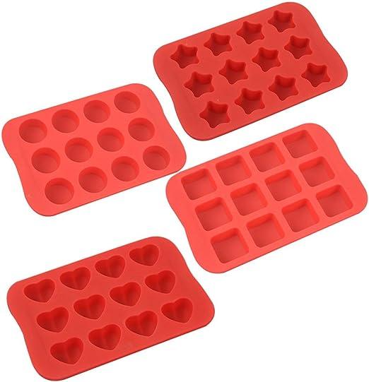 Amazon.com: Molde de silicona para hornear, moldes de ...