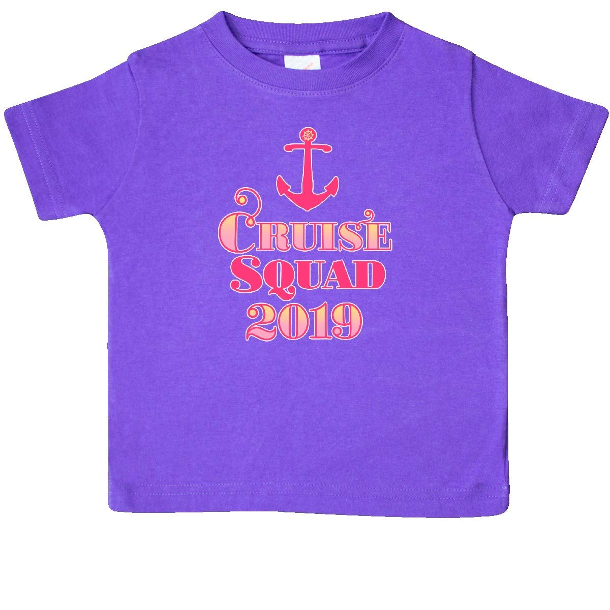 inktastic Cruise Squad 2019 in Pink Baby T-Shirt
