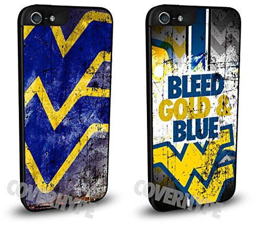 West Virginia Mountaineers Cell Phone Hard Plastic Case TWO PACK for iPhone 6 (4.7 inch) ()