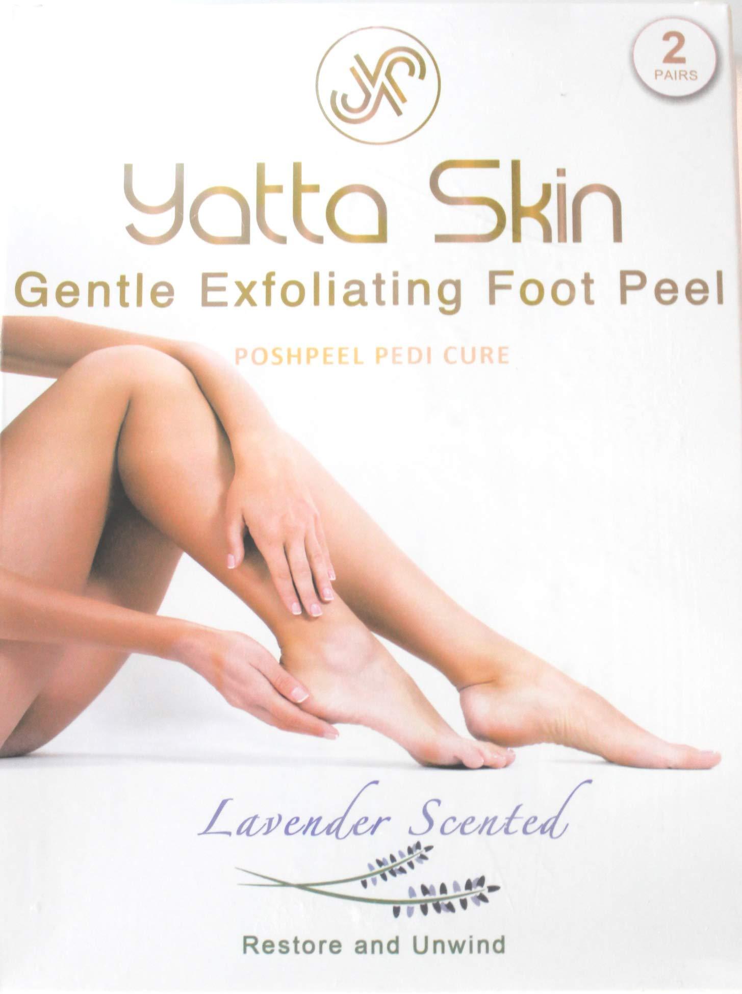 Exfoliant Foot Peel Baby Foot Peel, Lavender Scented, 2.4 fl oz. (2 Pack) by Exfoliant Foot Peel (Yatta Skin)