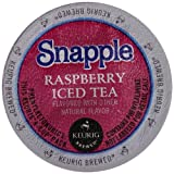 Snapple Iced Tea, Raspberry, 22 Count