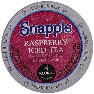 Snapple Iced Tea, Raspberry, 22 Count