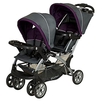 Amazon.com : Baby Trend Sit N Stand Double Stroller, Elixer ...