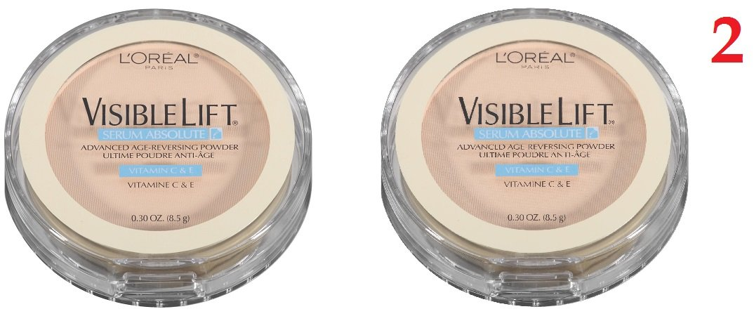 L'oreal Paris Visible Lift Serum Absolute Advanced Age-reversing Powder, 170 Fair (Pack of 2)