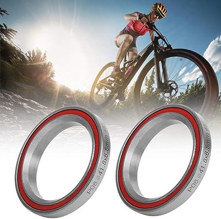 2Pcs Steel Bearing Headset Heavy Duty Bicycle Bike Double Sealed Bearing Headset