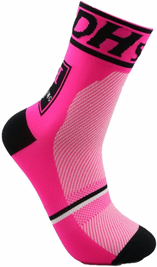 JIANYE Calcetines Ciclismo Transpirable Que Absorbe Running ...