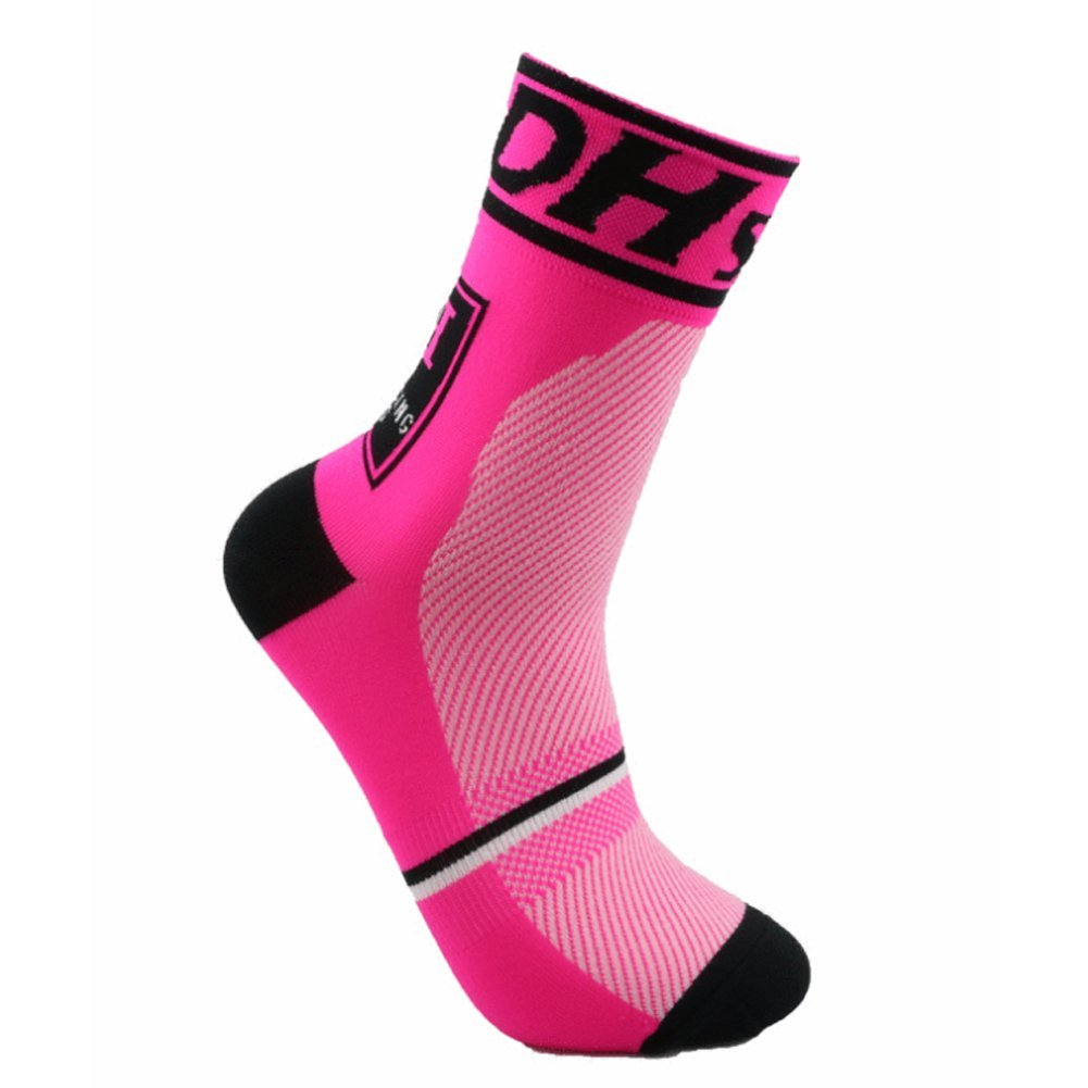 happygo! Calcetines Ciclismo Transpirable Que Absorbe Running Deporte Bicicletas Calcetines Hombre Mujer