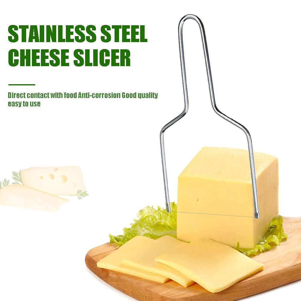 Stainless Steel Cheese Slicer Butter Cutting Baking DIY Baking Eco-Friendly Kitchen Tools YOEDAF