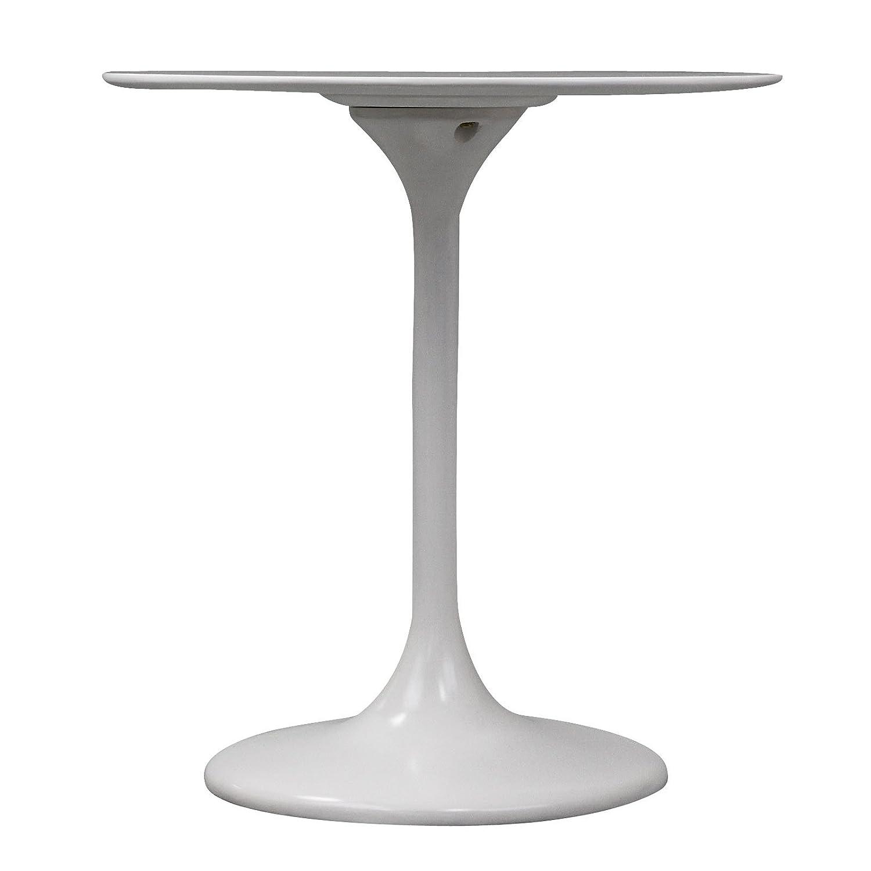 Amazoncom Modway Lippa Inch Fiber Glass Dining Table White - Saarinen kitchen table