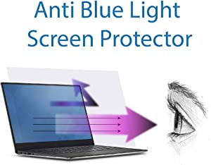 Anti Blue Light Screen Protector (3 Pack) for 12.5 Inches Laptop. Filter out Blue Light and relieve computer eye strain to help you sleep better