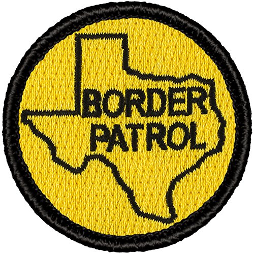 Texas Border Patrol Patch - 2