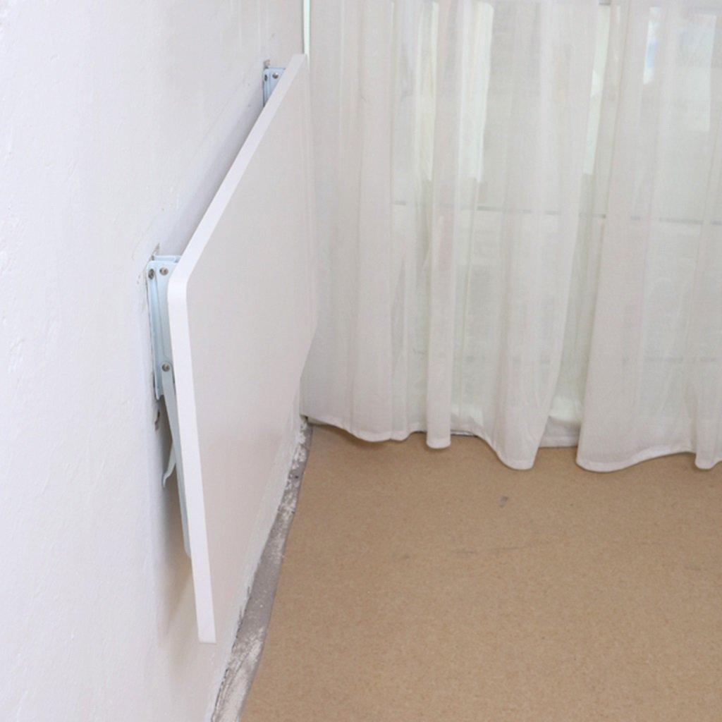壁掛け折り畳み式コンピュータデスク白い密度ボードのダイニングテーブル壁掛けの研究テーブルサイズ (サイズ さいず : 60cm*40cm) B07BT28VW760cm*40cm