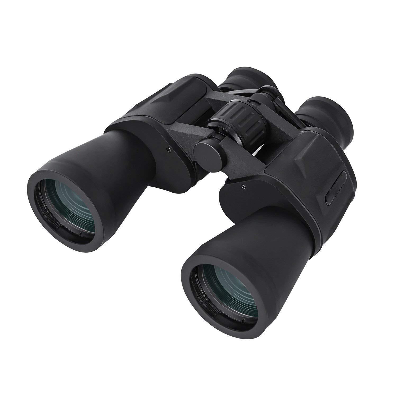 20 x 50 Prismáticos Binoculares Plegables de Alta Resolución Bak-4 y Largo Alcance con Prisma Bak-4 Resolución Nítida Vista, para Observación de Aves, Conciertos, Actividades al Aire Libre 4b4ebd