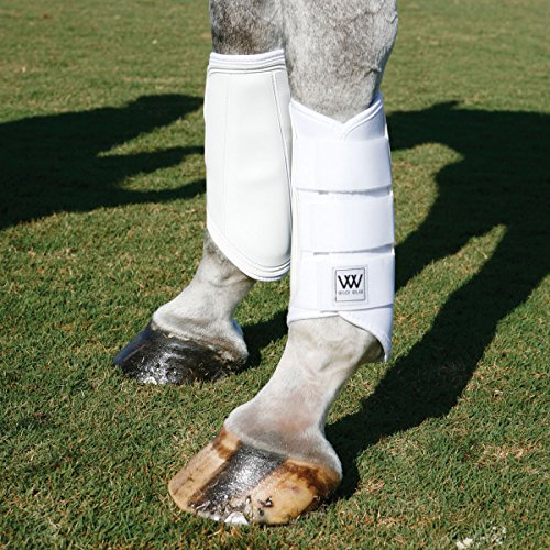 WOOF WEAR Double Lock Brushing Boots - Size:Small Color:White (Double Lock Brushing Boot)