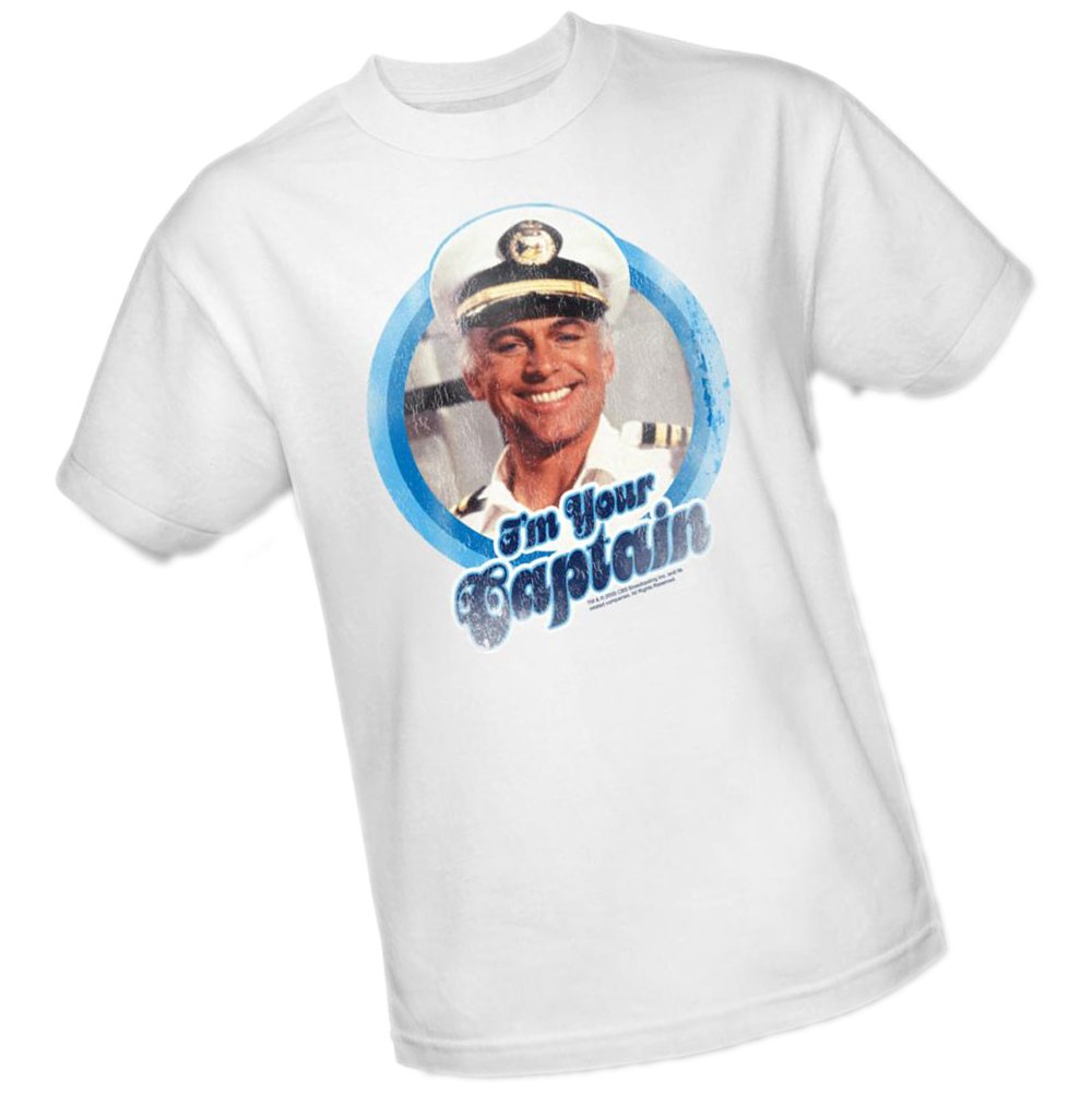 I'm Your Captain -- The Love Boat Adult T-Shirt, X-Large by ABC (Image #1)