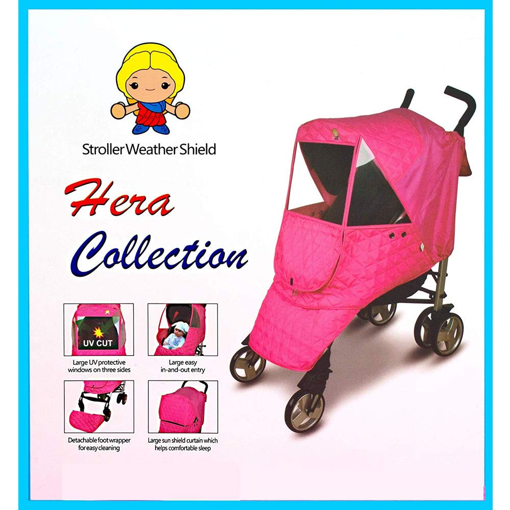 Amazon.com: Funda para cochecito de bebé de tela acolchada ...