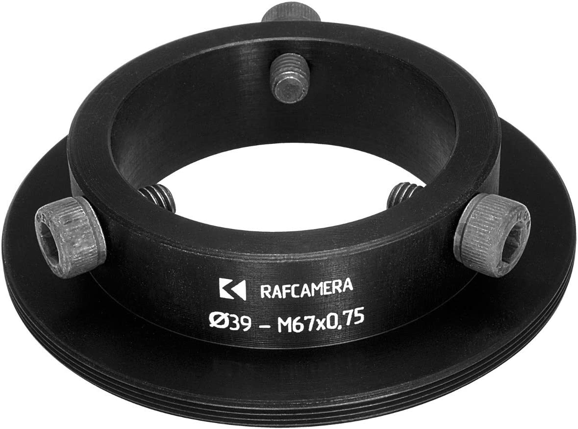 39mm clamp to M67x0.75 Male Thread Adapter for Kowa 16-A Lenses