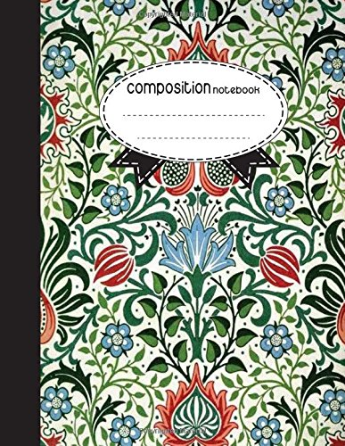 Composition Notebook, 8.5 x 11, 110 pages: Colorful Beauty : (School Notebooks) ebook