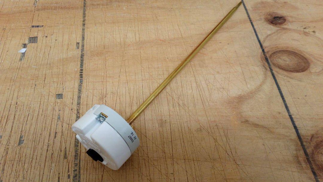 COTHERM –  TSE 27, 9 cm T115 20 A 250 V par immersion Thermostat Tse20007 9cm T11520A 250V par immersion Thermostat Tse20007