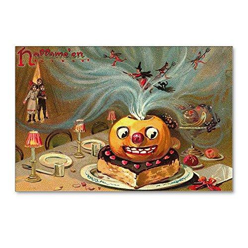 CafePress - Halloween Vintage Retro Classic Old Art