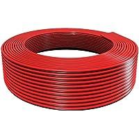 BTF-LIGHTING 32.8ft/10m 20AWG LED-strip lichtband elektrische verlengkabel 2-polig rood zwart standaard aansluitkabel…