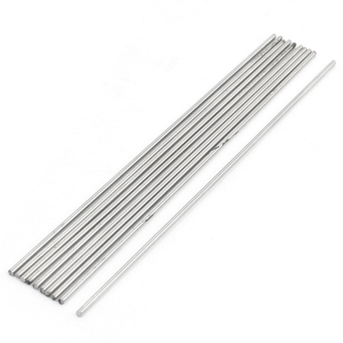 10 Pcs HSS High Speed Steel Round Turning Lathe Bars 1.2mm x 100mm Sourcingmap a14021900ux0134